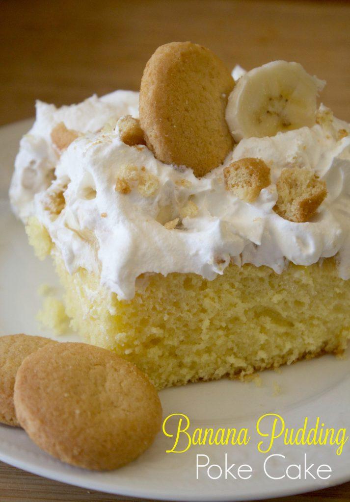 banana poke cake recipe