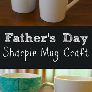 Sharpie Mug: Easy Kids Craft For Father's Day