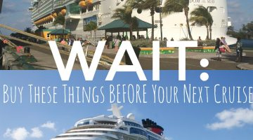 10 Things To Pack BEFORE Your next Cruise