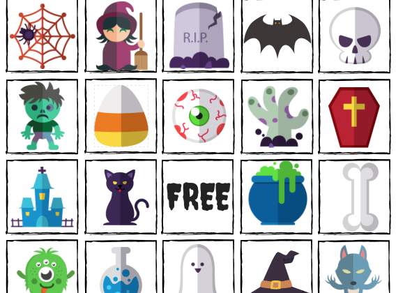 FREE Downloadable Halloween Bingo Printable