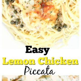 Easy Lemon Chicken Piccata