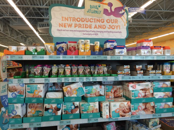 ALDI Little Journey Baby Brands