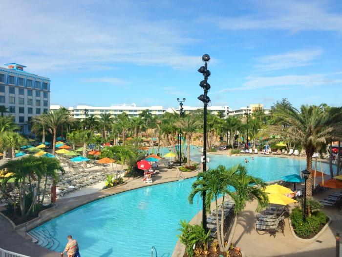 pool at Loews Sapphire Falls Resort