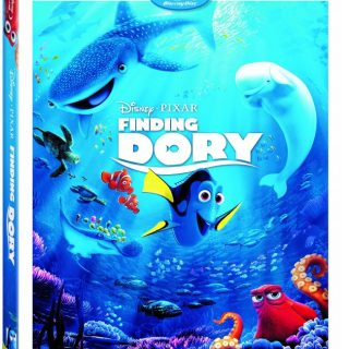 Finding Dory Is Now Available on Blu-ray, DVD and HD