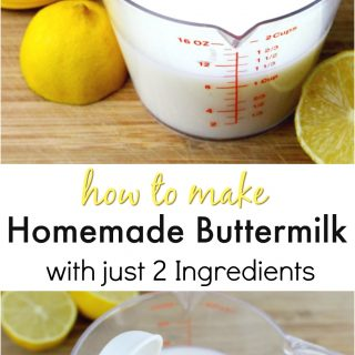 How To Make Buttermilk Milk At Home