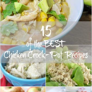 15 Easy and BEST Chicken Crockpot Recipes