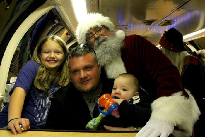 Inside The Polar Express Train