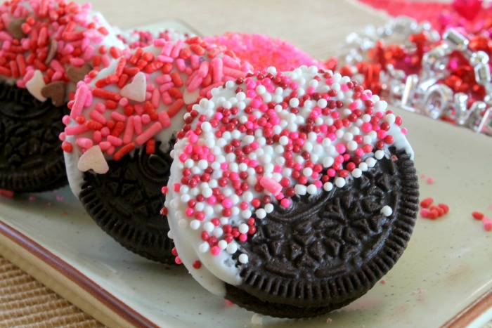Chocolate Dipped Oreo Cookie Recipe For Valentines Day