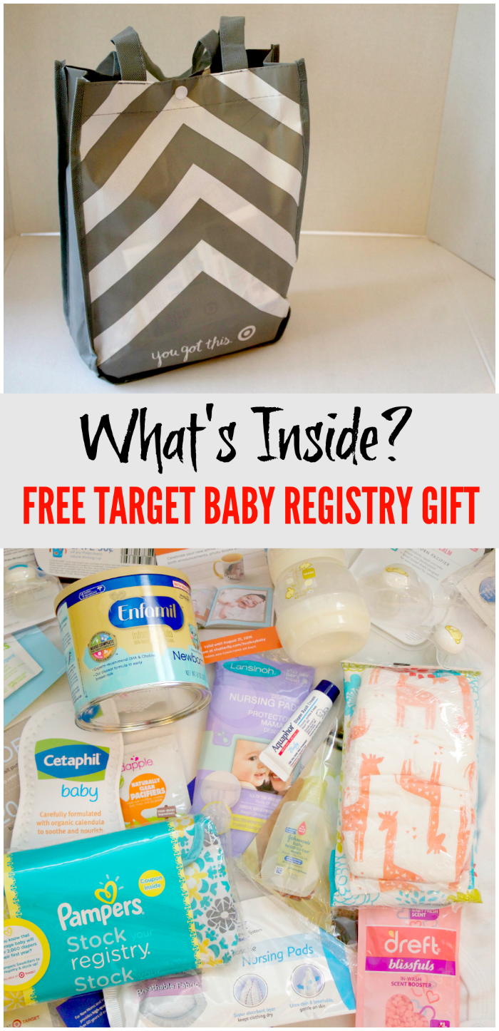Get Over 60 Worth Of Free Baby Stuff At Target Registry Gifts