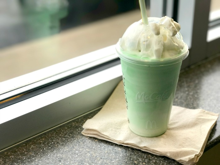 Shamrock Season McDonalds