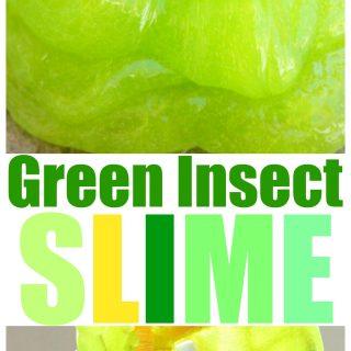 Green Bug Slime-Fun Sensory Play Activity For Spring