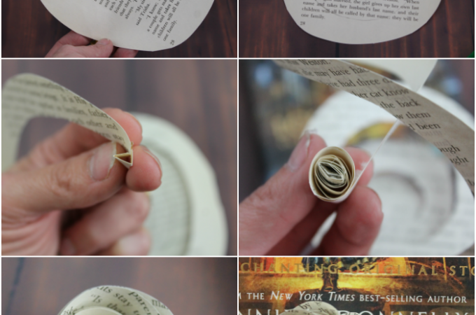 Instructions Make Paper Roses Step by Step