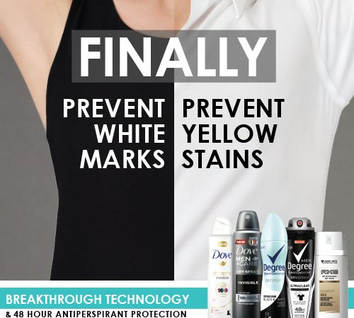 No Stain Deodorant Products