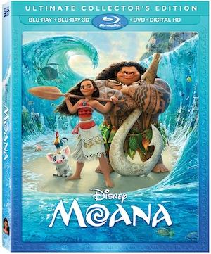 MOANA on Blu-ray