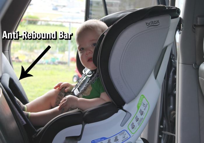 Anti-Rebound Bar Britax Car Seat