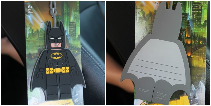 Batman Luggage Tags
