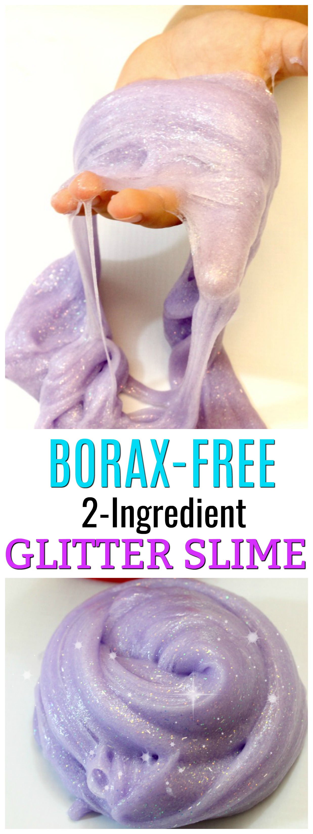 Make Glitter Slime with No Borax! The BEST Glitter Slime ... - photo#40