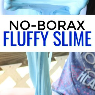 EASY Contact Solution Fluffy Slime Recipe