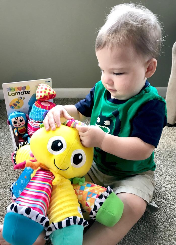 octotunes lamaze toys