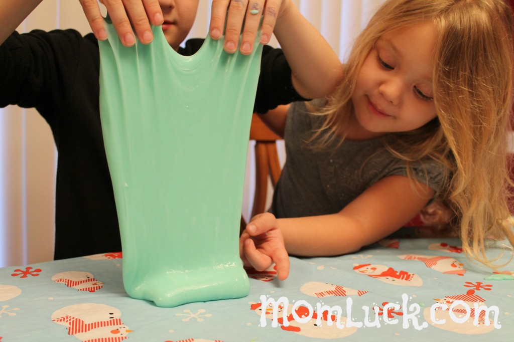 Easy recipe for homemade slime