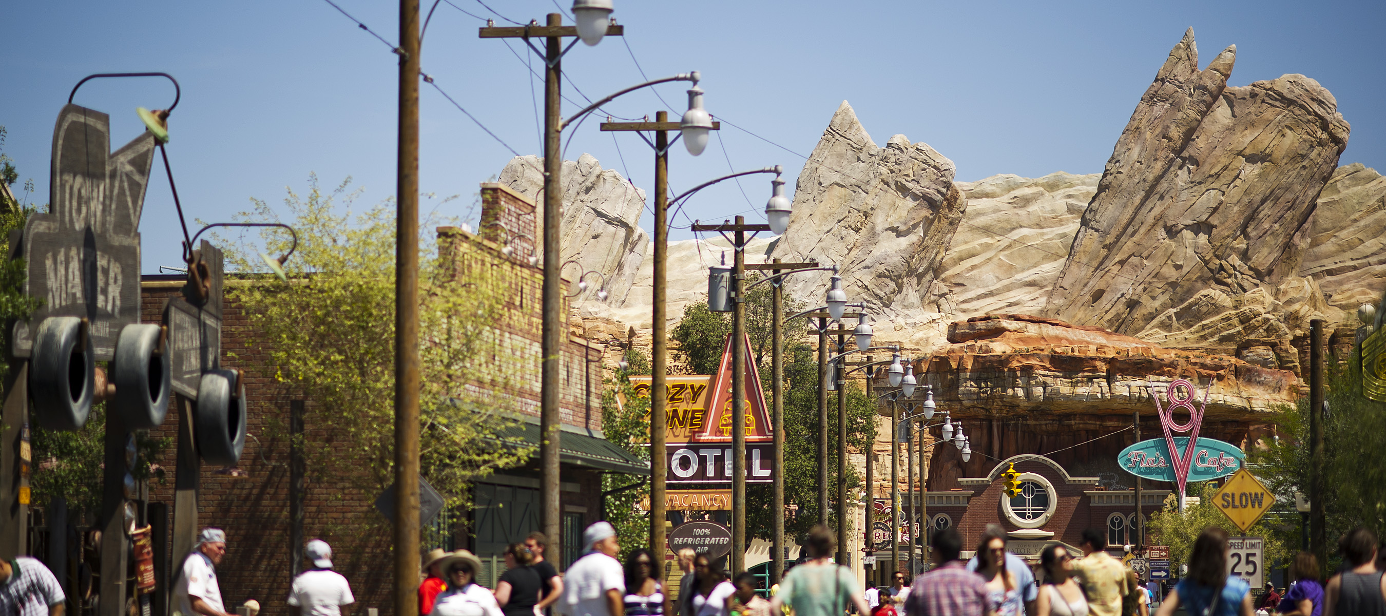 Planning A Vacation To Cars Land At Disney California Adventure - Disney adventure
