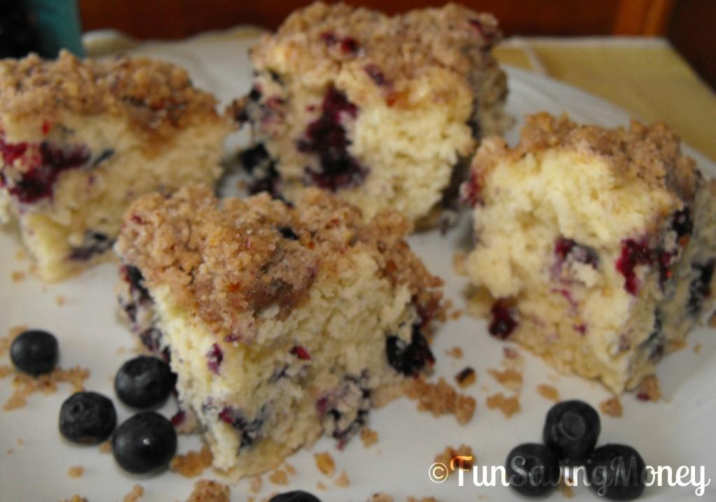 blueberry buckle breakfast cake recipe