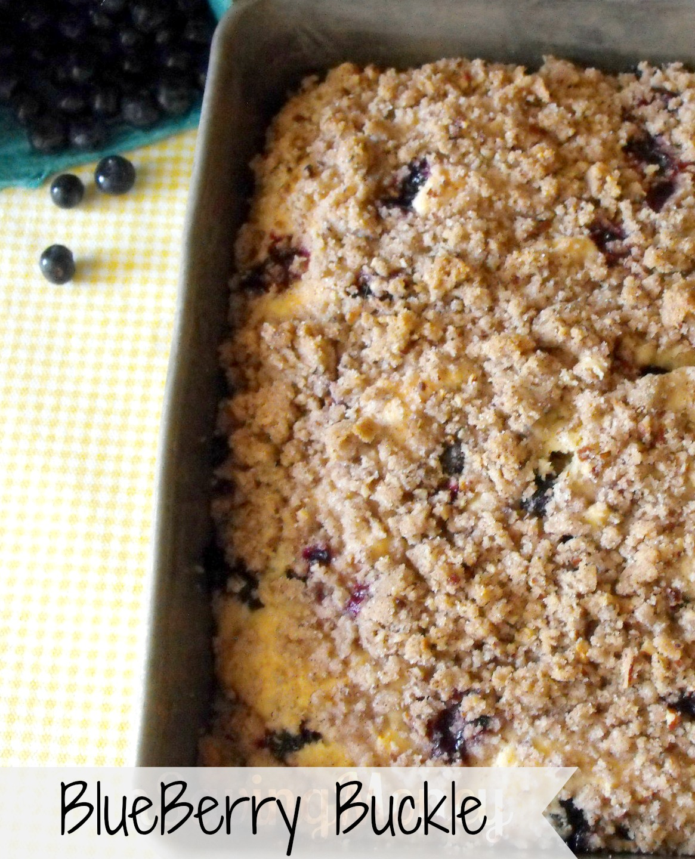 Blueberry Buckle Cake Recipe-blueberry cake recipes