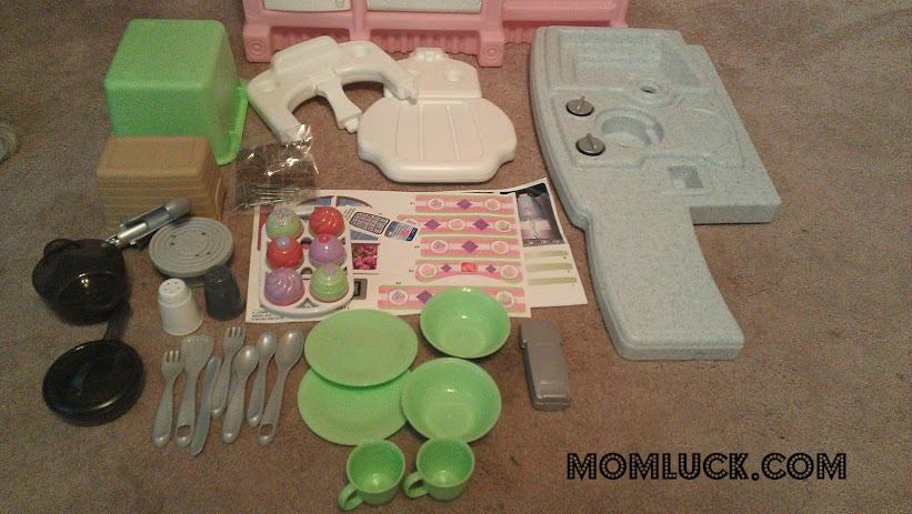 A Little Girls Dream Toy The Step2 Little Bakers Kitchen Mom Luck