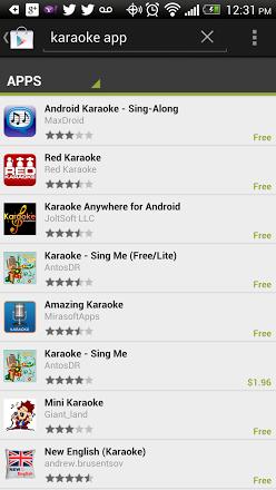 karaokee apps