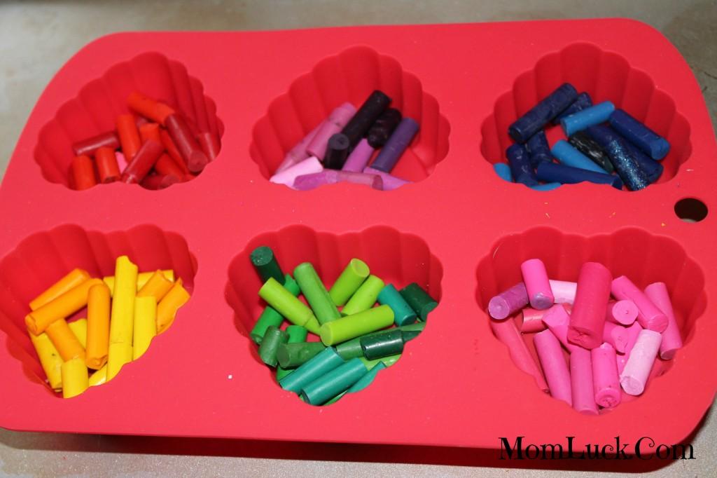 crayon hearts valentine