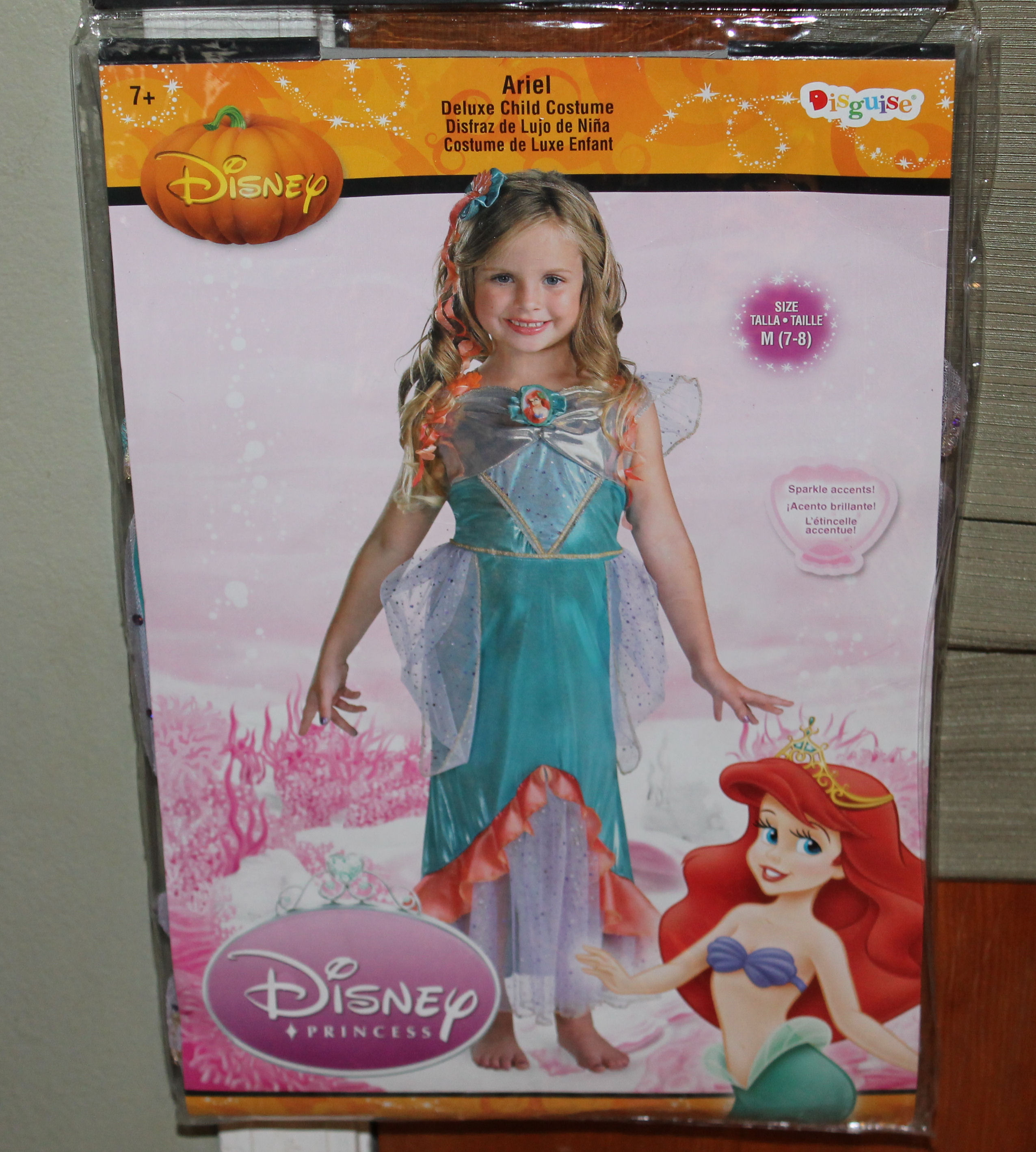 1c35cc7f817a Disney Sc 1 St Mom Luck. image number 6 of little mermaid child costume ...