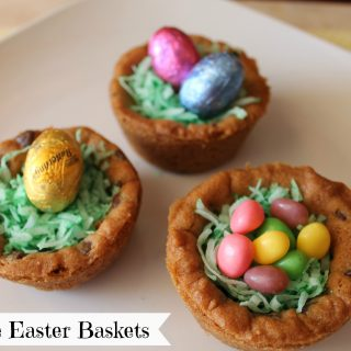 Cookie Easter Baskets Recipe