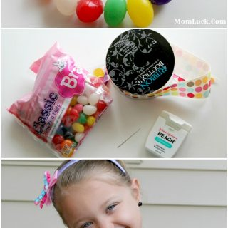Easter Crafts For Kids-Jelly Bean Bracelet