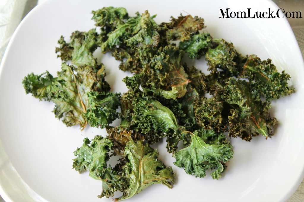 healthy snack recipes-recipe for kale chips