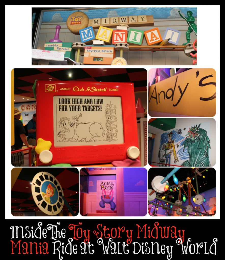 Toy story mania ride-Hollywood Studios