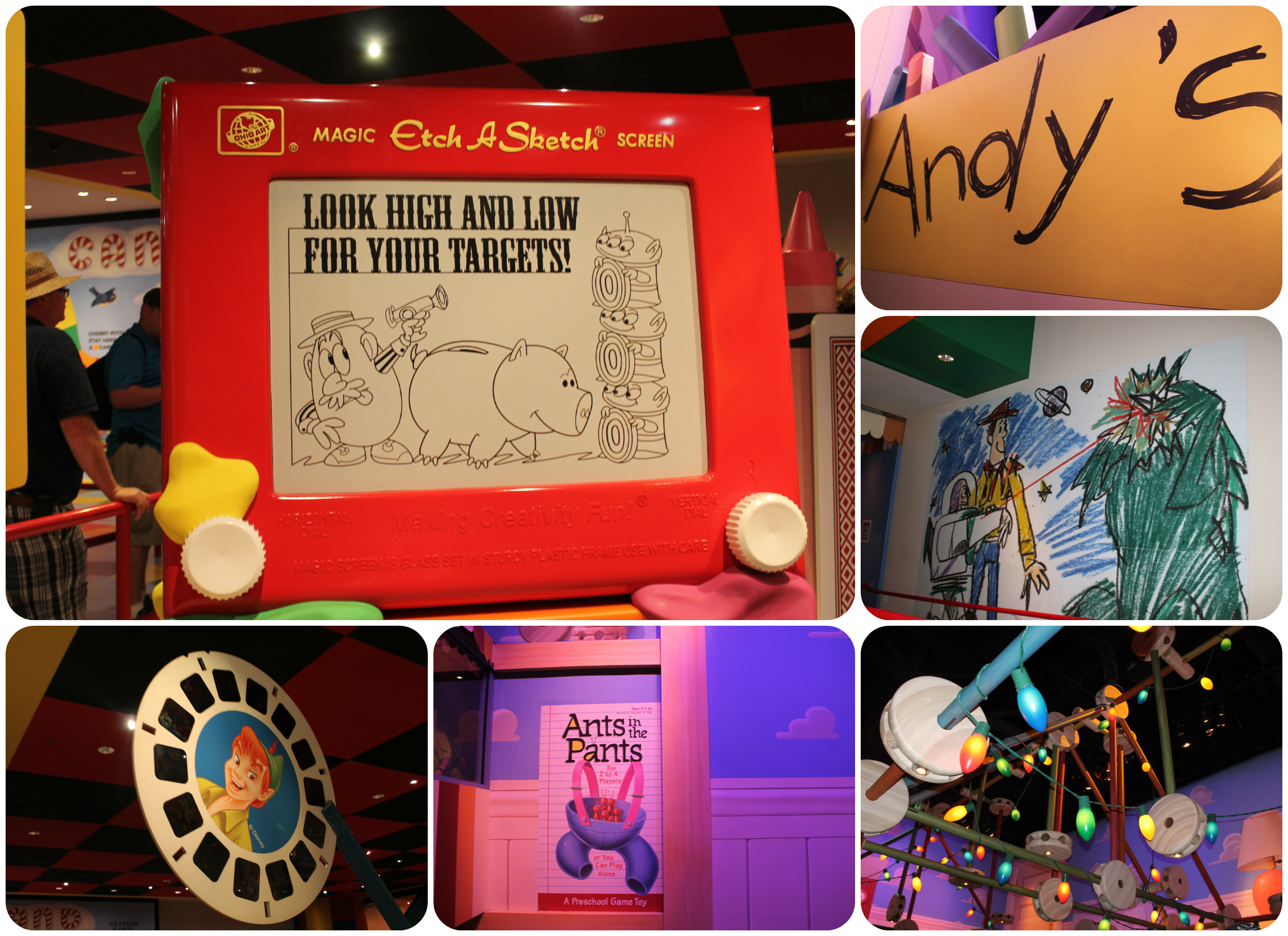 Toy Story Mania Ride In Hollywood Studios