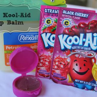 How to Make DIY Kool-Aid Lip Balm