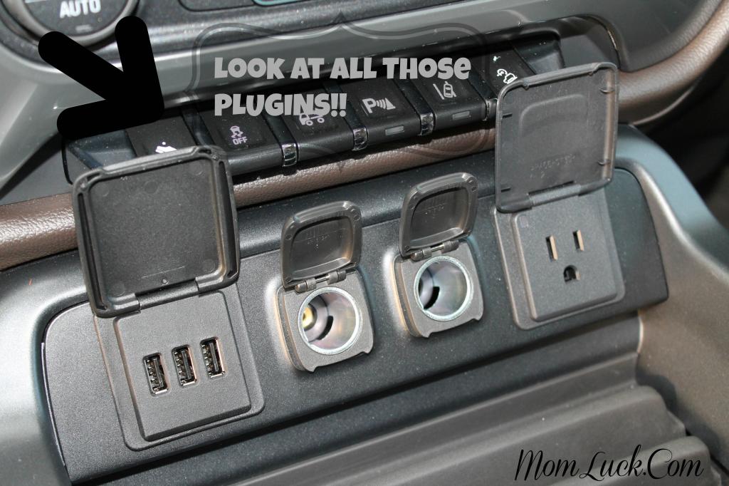Inside Chevy Silverado Truck