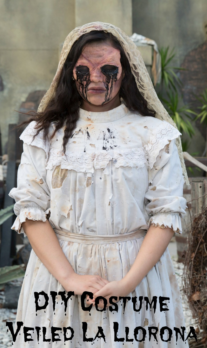 Last Minute Costume Idea Be La Llorona the weeping woman