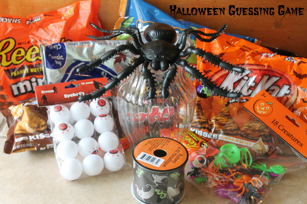 halloween games, halloween candy guessing games, halloween
