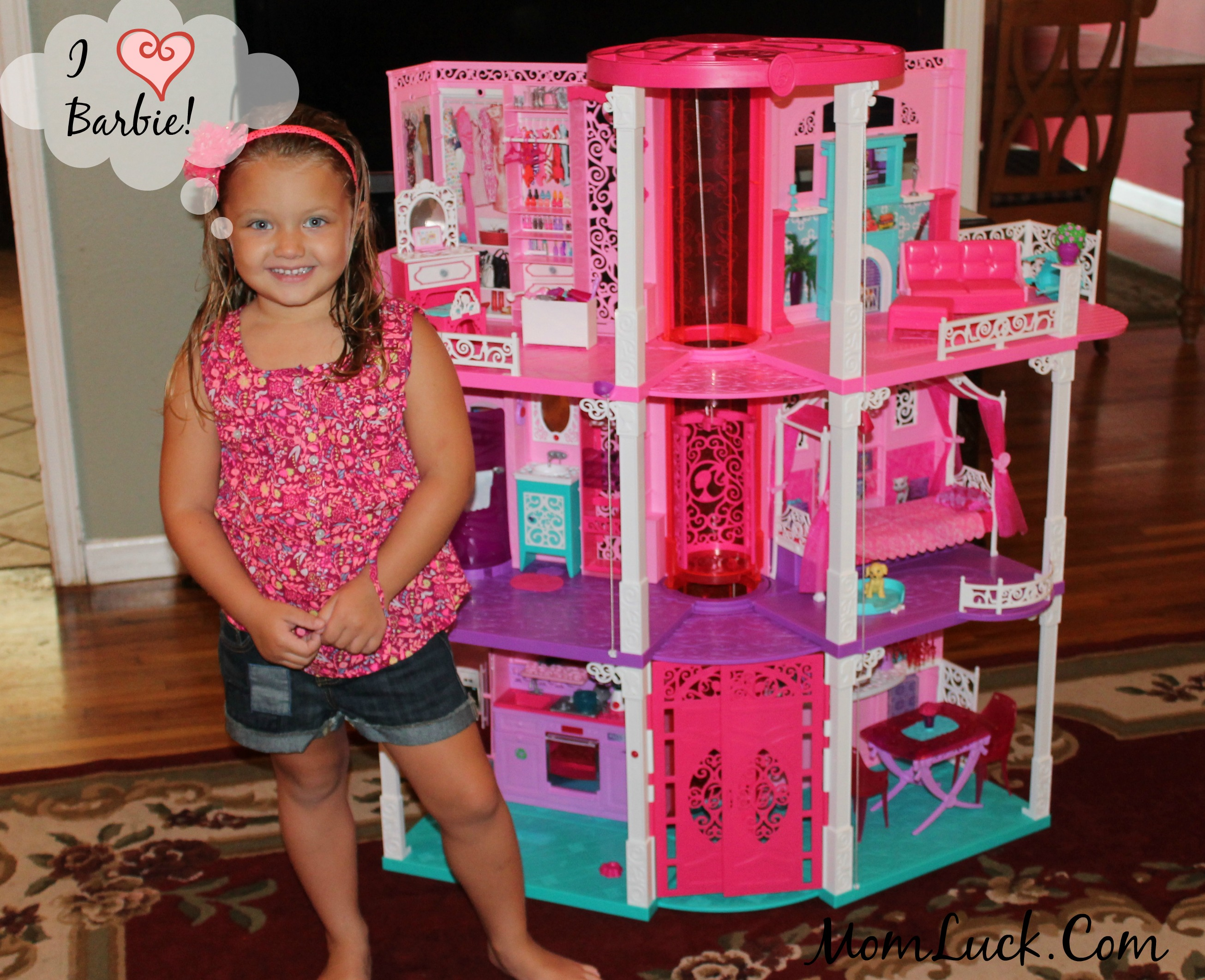 House Toys For Girls : Barbie and friends at walmart dreamhouse