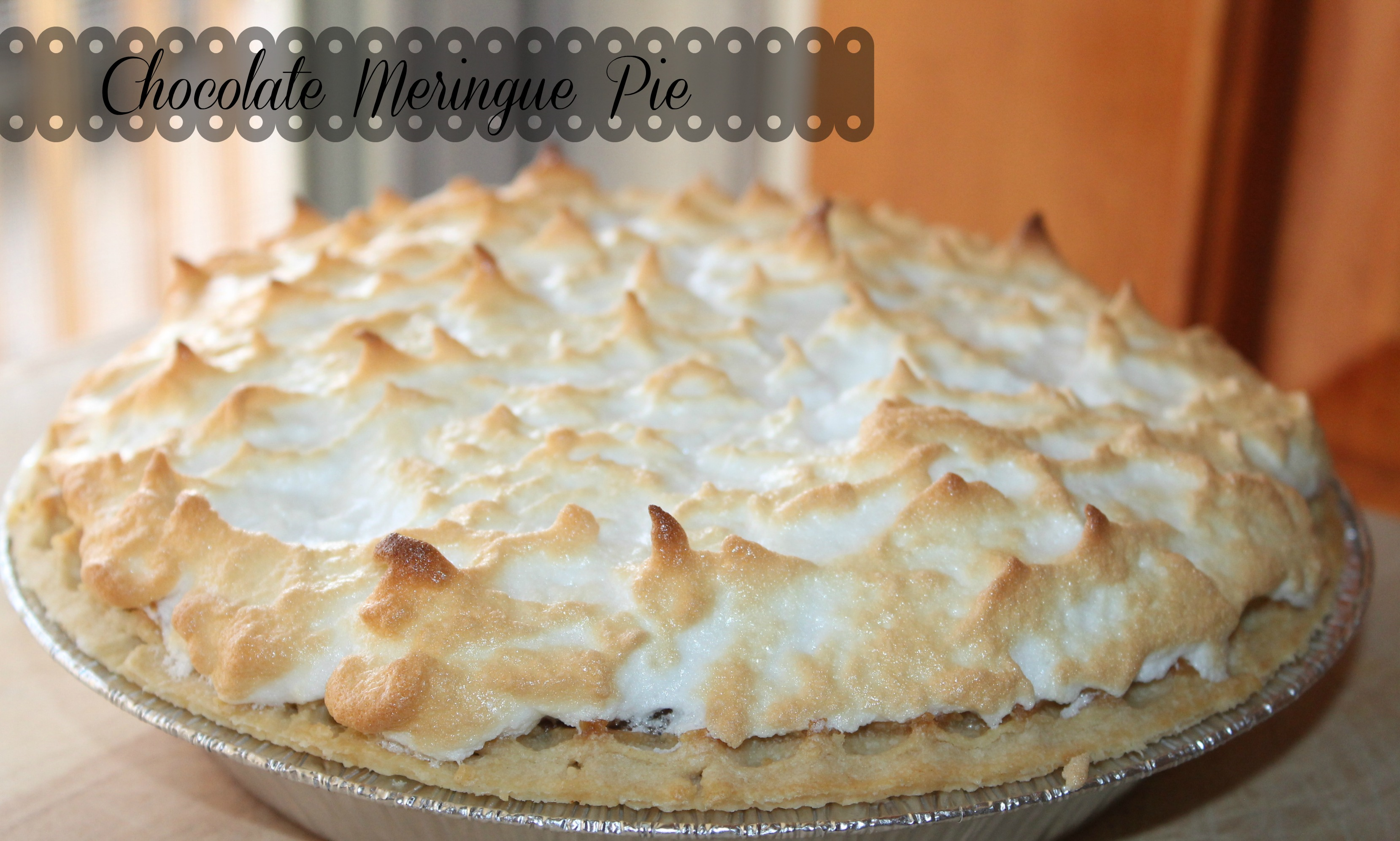 Easy Chocolate Meringue Pie Recipe