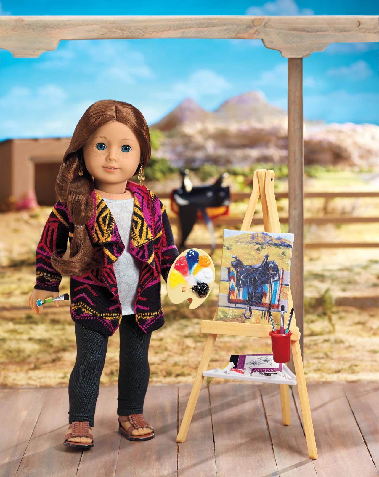 American Girl Doll Basic Knit Dress Pattern And Tutorial: American Girl Doll