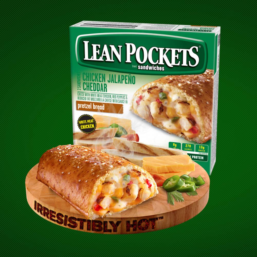 Lean Pockets Logo Lean Pockets Hot Combi...