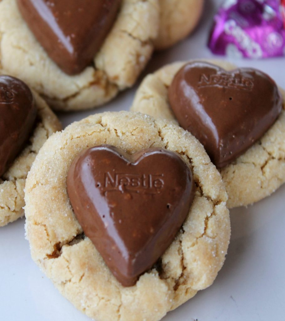 peanut butter blossoms cookie recipe