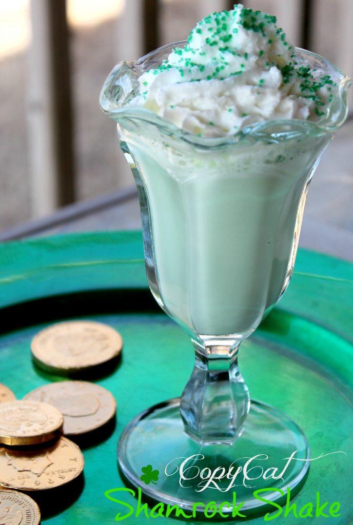 shamrock shake-McDonalds Shamrock Shake copycat Recipe