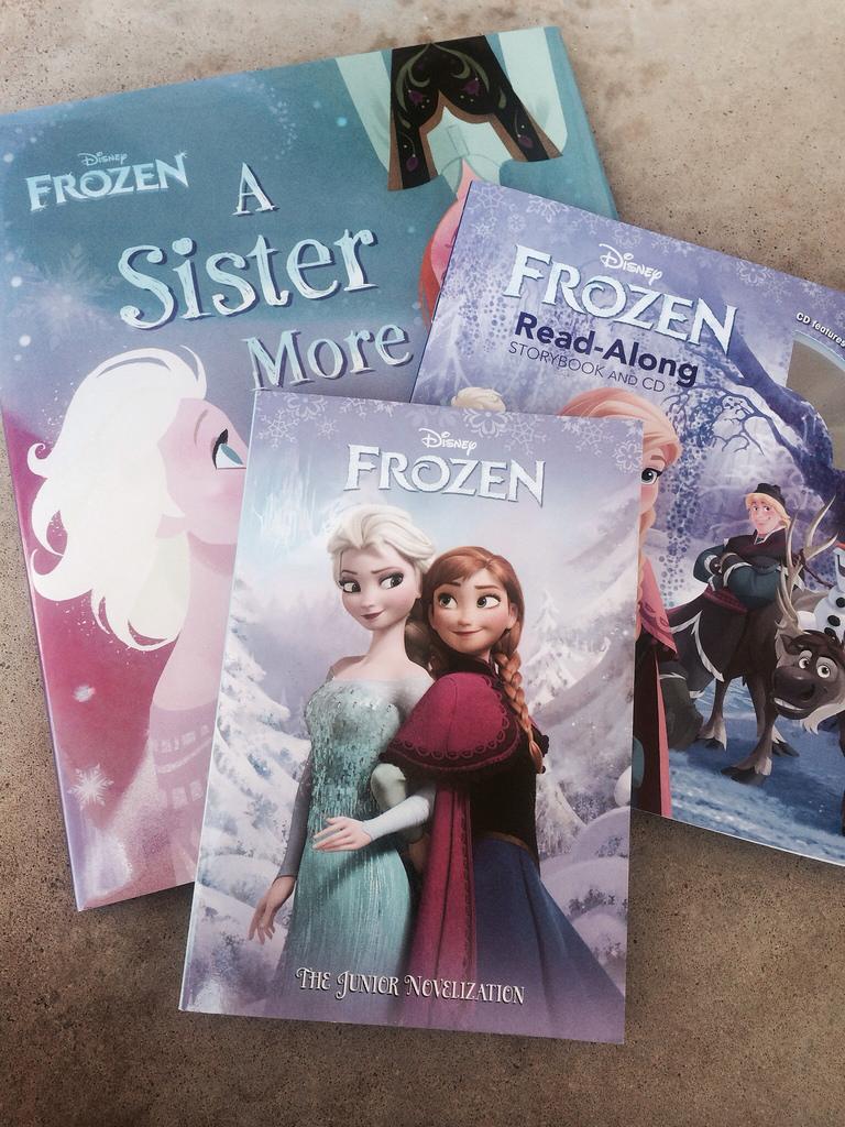 Disney Frozen Books