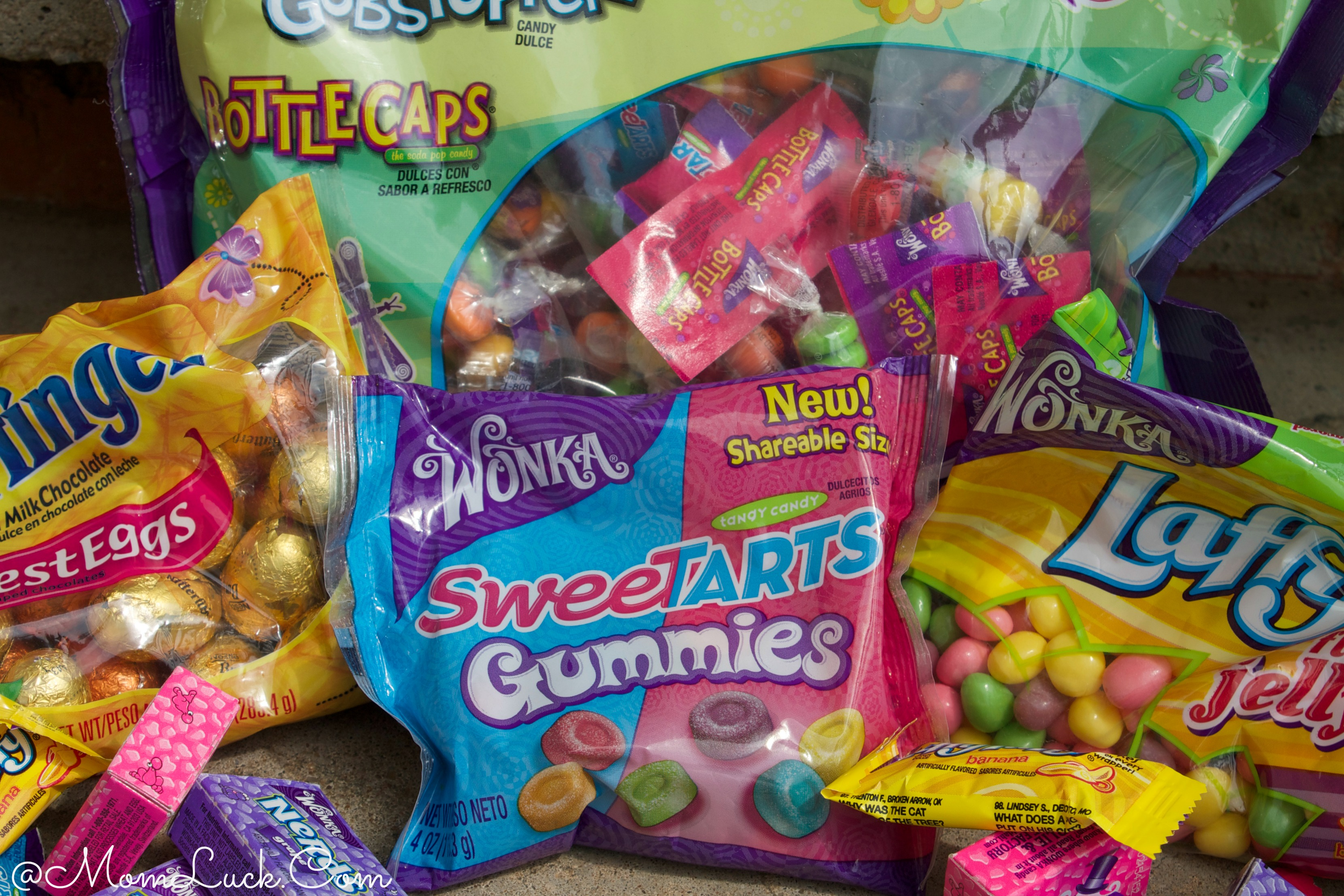 Easter Basket Filled With Nestle Candy