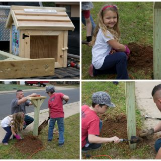 Share the Love of Reading with A Little Free Library