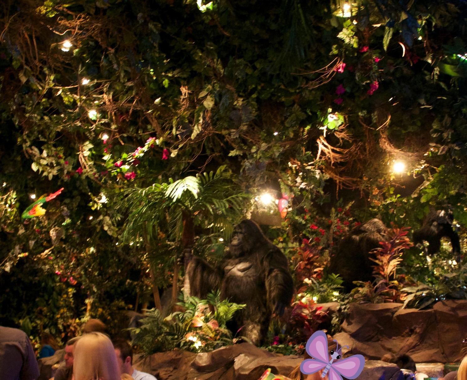 Grapevine Rainforest Cafe
